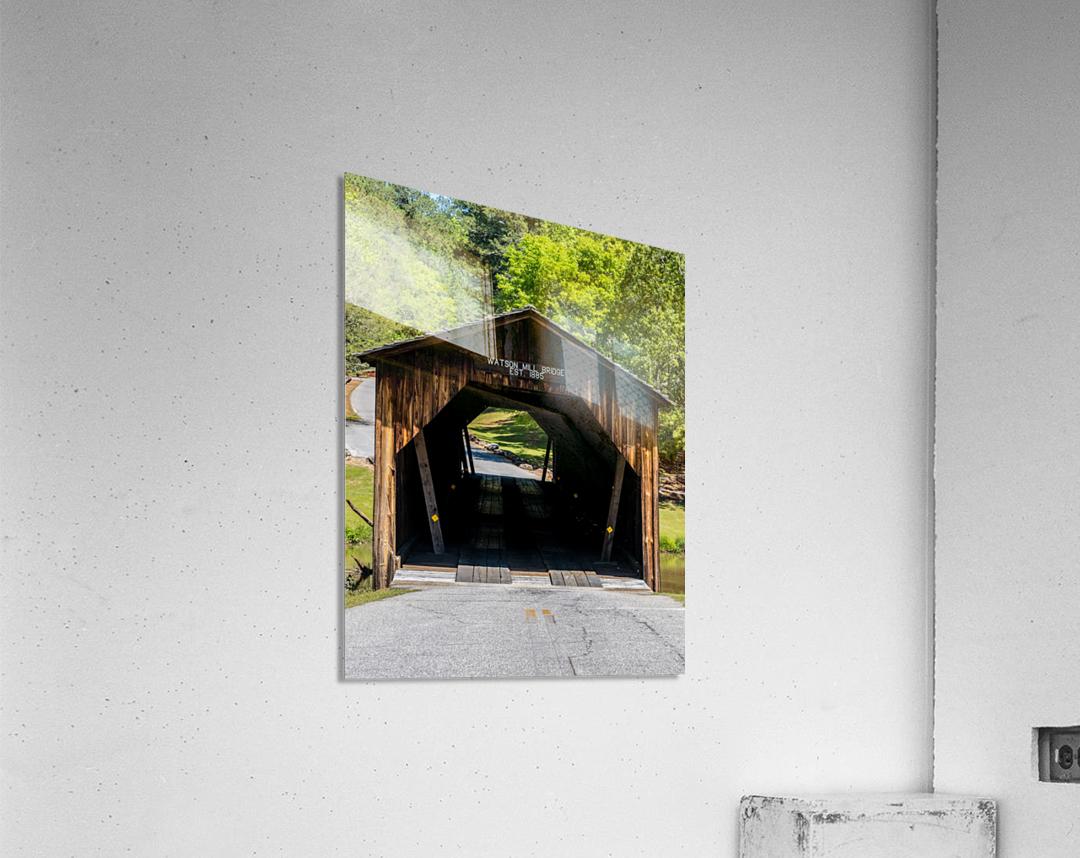 Watson Mill Bridge State Park   Comer GA 06571  Acrylic Print