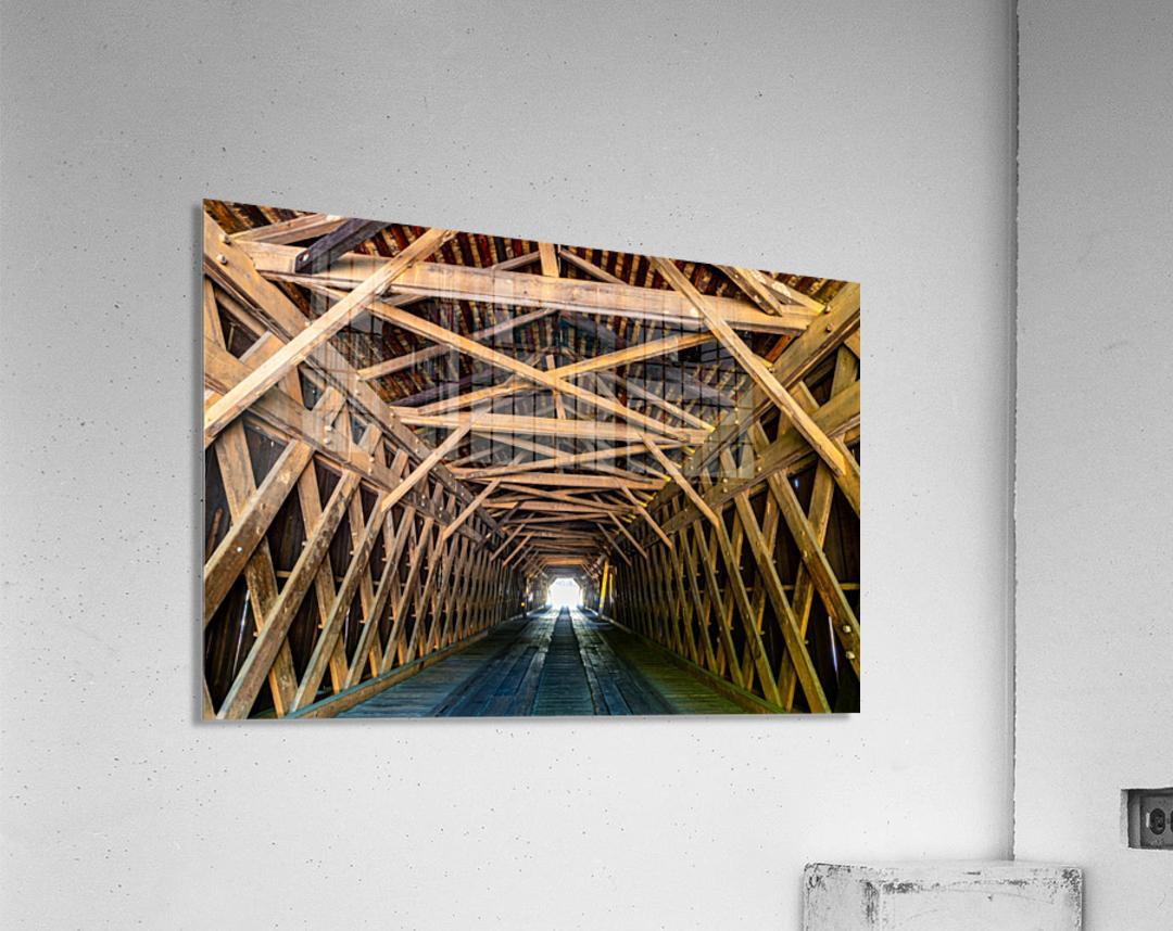 Watson Mill Bridge State Park   Comer GA 06956  Acrylic Print