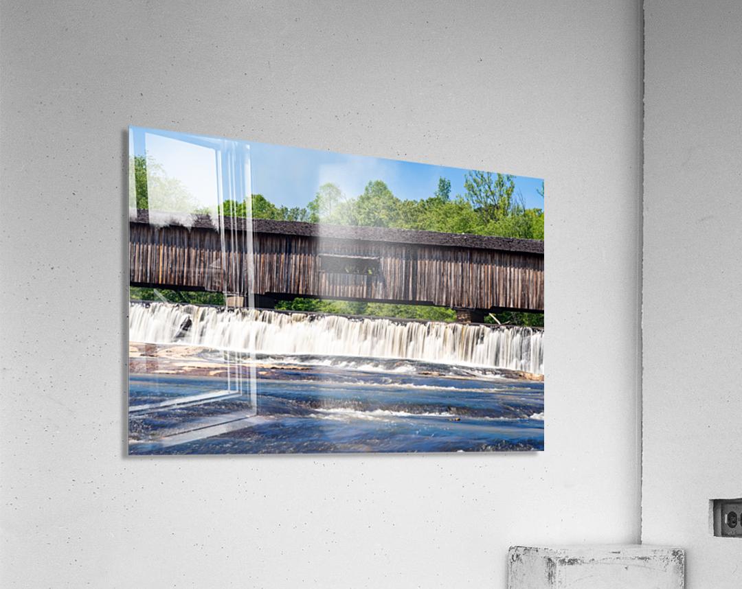 Watson Mill Bridge State Park   Comer GA 06715  Acrylic Print