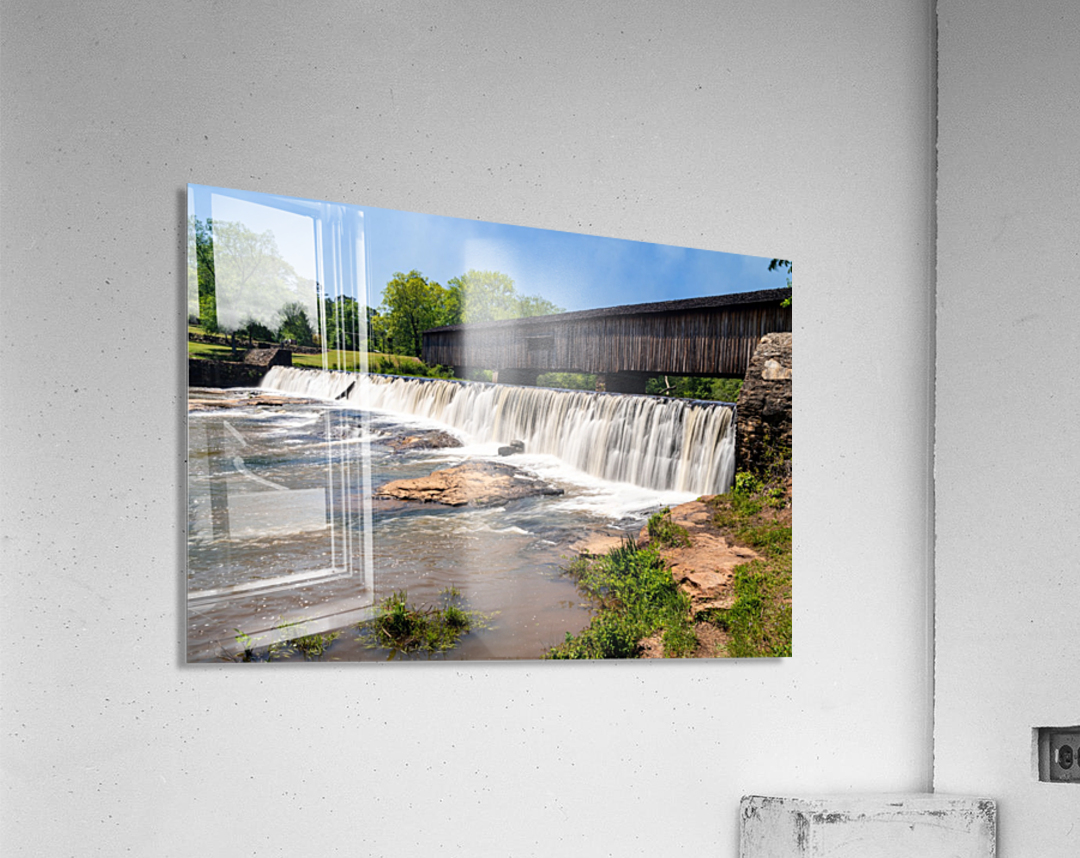 Watson Mill Bridge State Park   Comer GA 06914  Acrylic Print