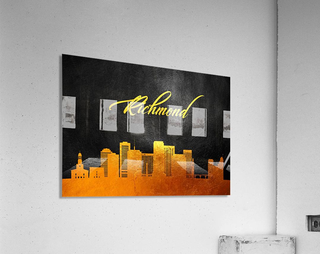 Richmond Virginia Skyline Wall Art  Acrylic Print