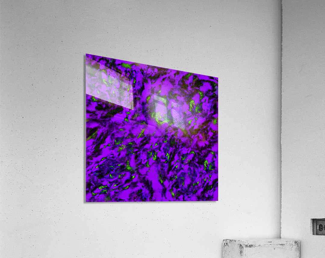 Fluttering purple  Acrylic Print