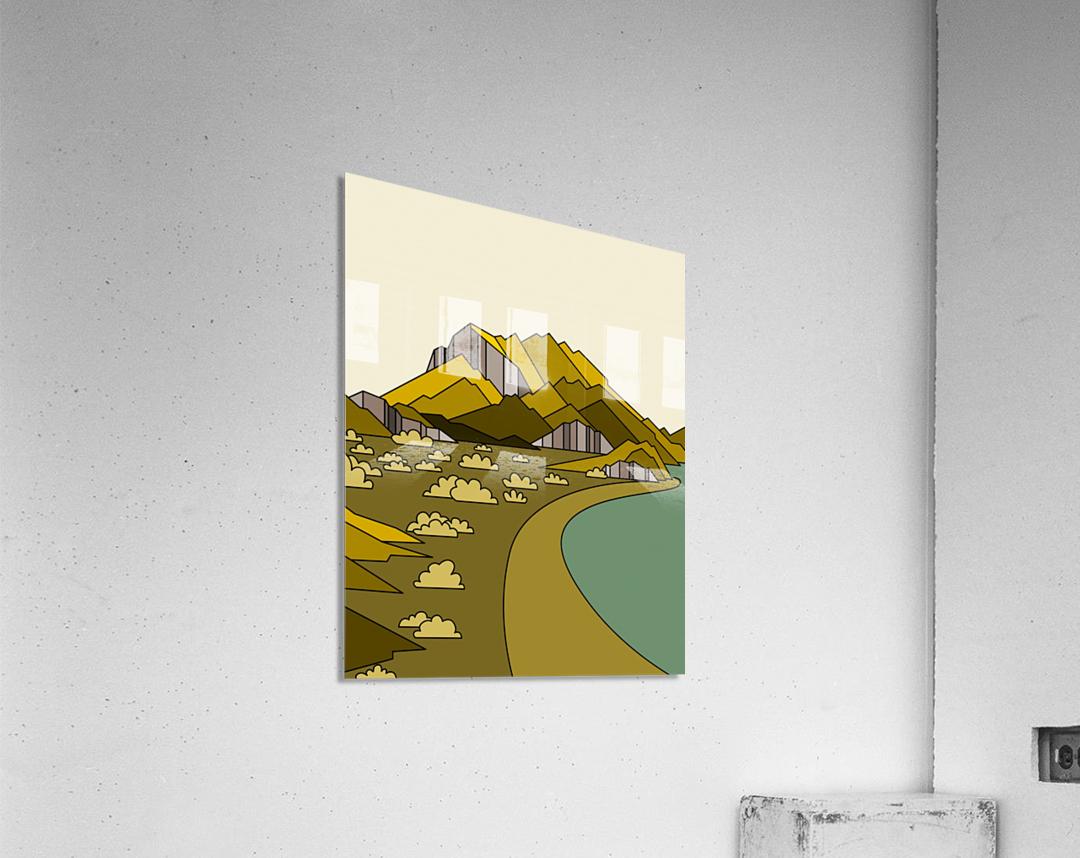 travel destination landscape nature  Acrylic Print