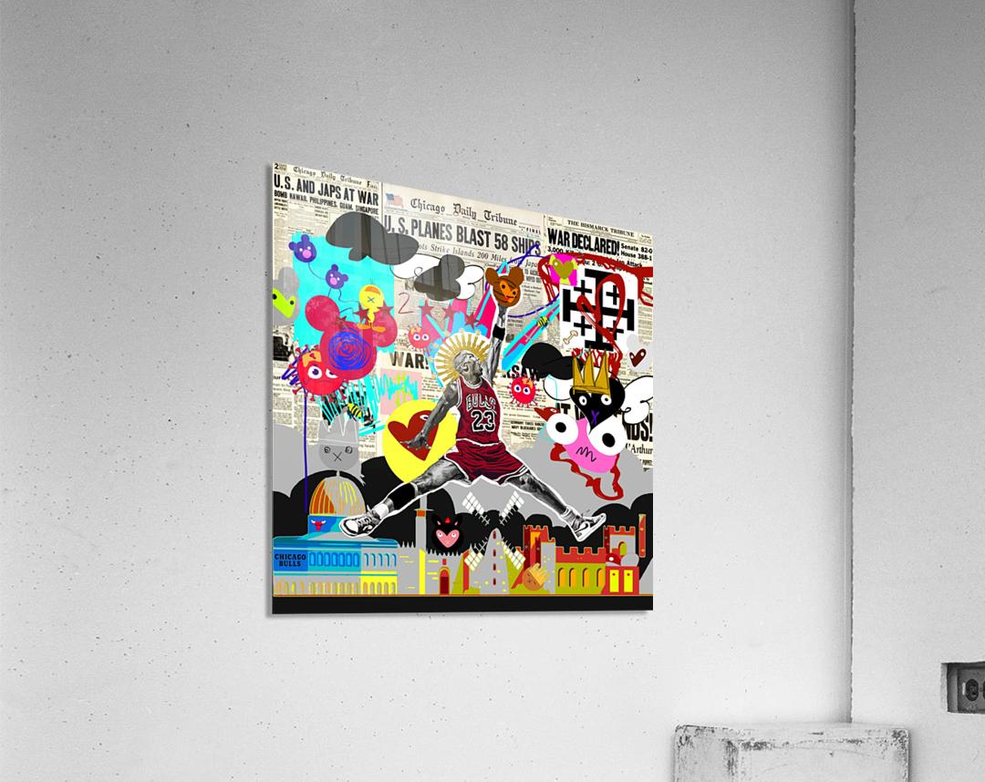 Black Jesus  Acrylic Print