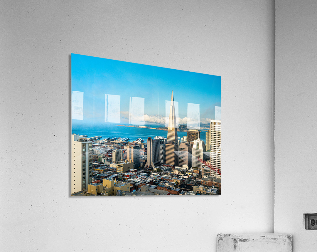 San Francisco Skyline  Acrylic Print