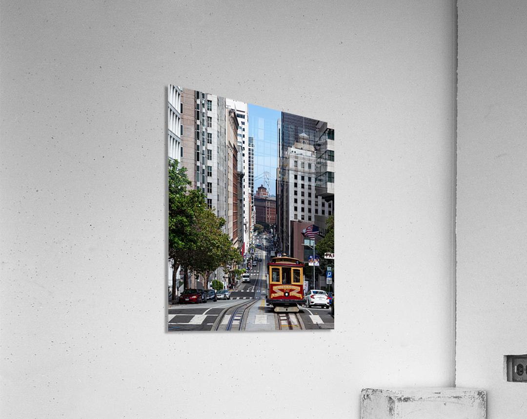 San Francisco City Scene  Acrylic Print