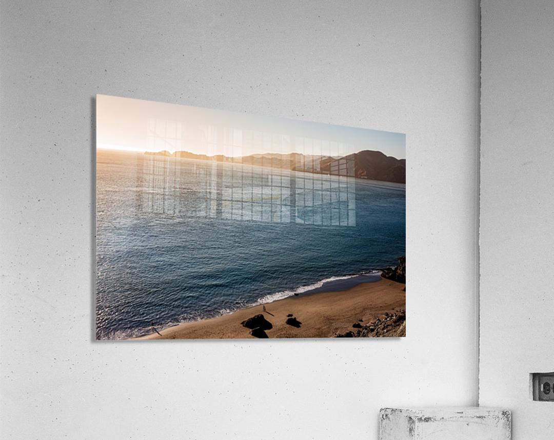 Marshall Beach Sunsets  Acrylic Print