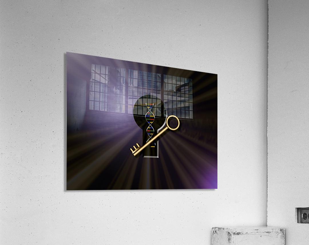 DNA Solution  Acrylic Print