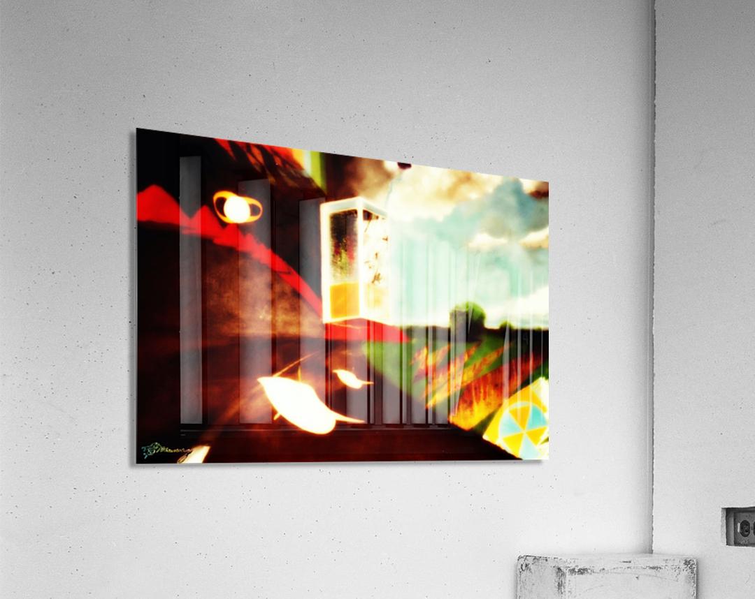 Spacetime Phone Box RLM  Impression acrylique
