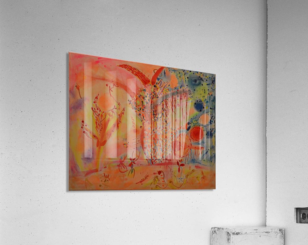 BENEDICTION  Impression acrylique