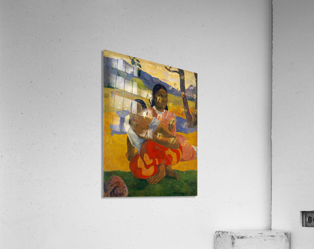 Paul Gauguin: When Will You Marry HD 300ppi  Acrylic Print