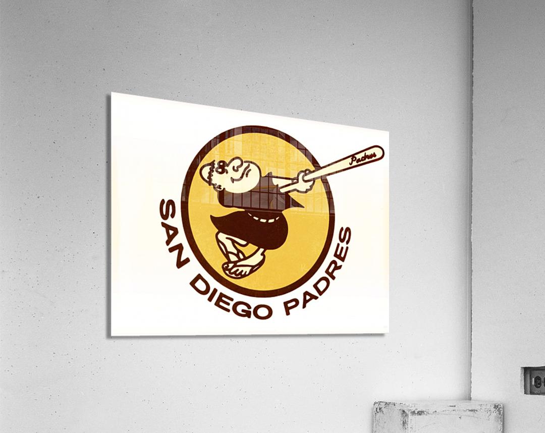 Retro San Diego Padres Art  Acrylic Print