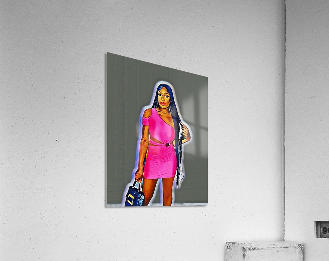 Whatsup  Acrylic Print