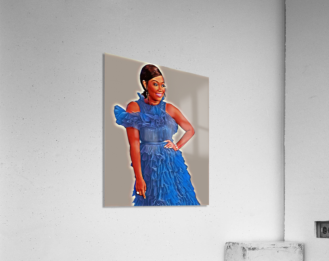 Sapphire  Acrylic Print