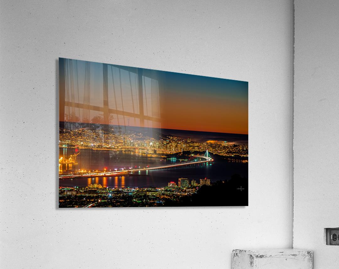City to City - Berkeley to San Francisco  Acrylic Print