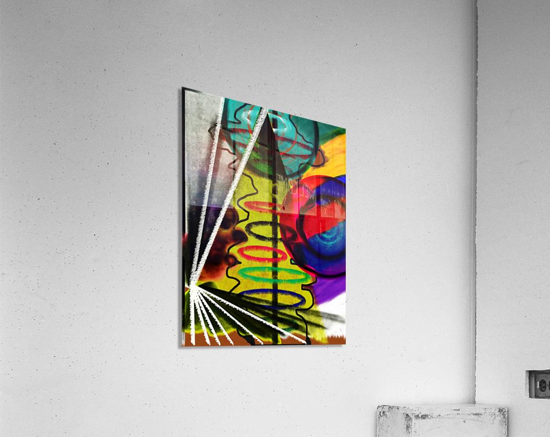 Creating Life  Acrylic Print