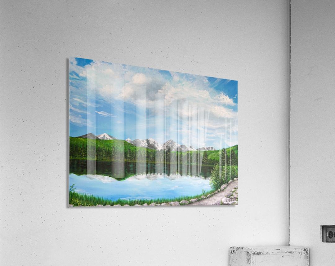 Sprague Lake CO  Acrylic Print