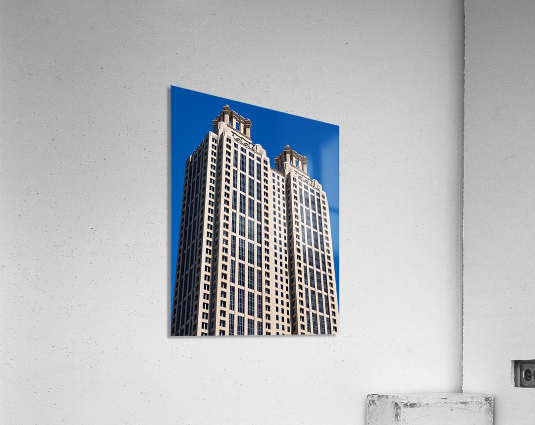 191 Peachtree Tower   Atlanta GA 6969  Acrylic Print