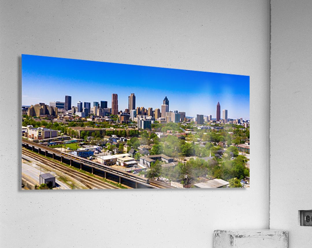 Atlanta GA  Panoramic Skyline 0618  Acrylic Print