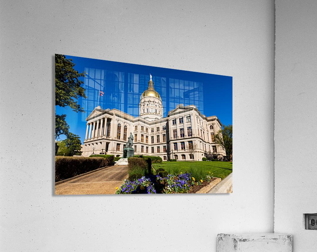 Georgia State Capitol Building   Atlanta GA 7215  Acrylic Print
