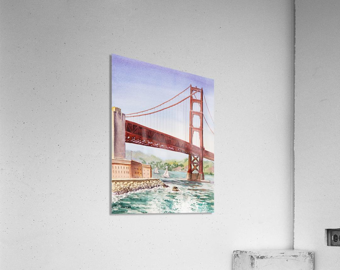 Golden Gate Bridge San Francisco  Acrylic Print