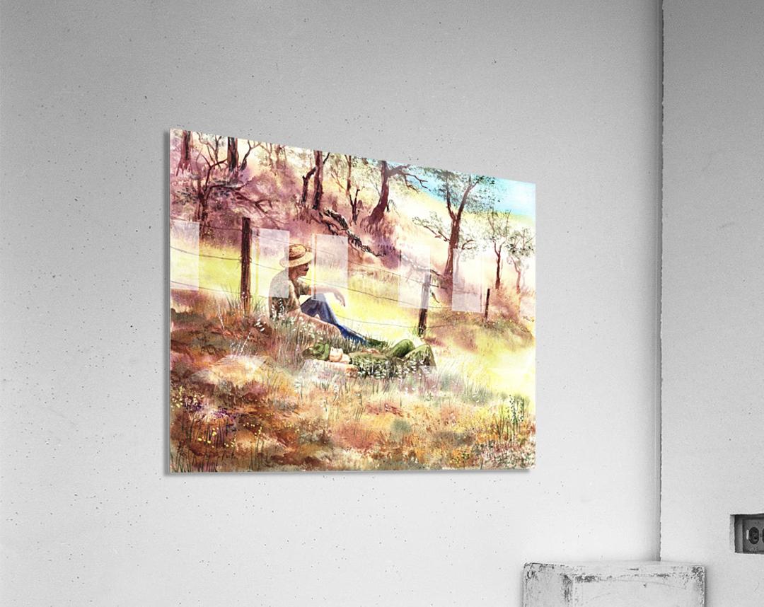 Farmers And Hunters Heaven  Acrylic Print