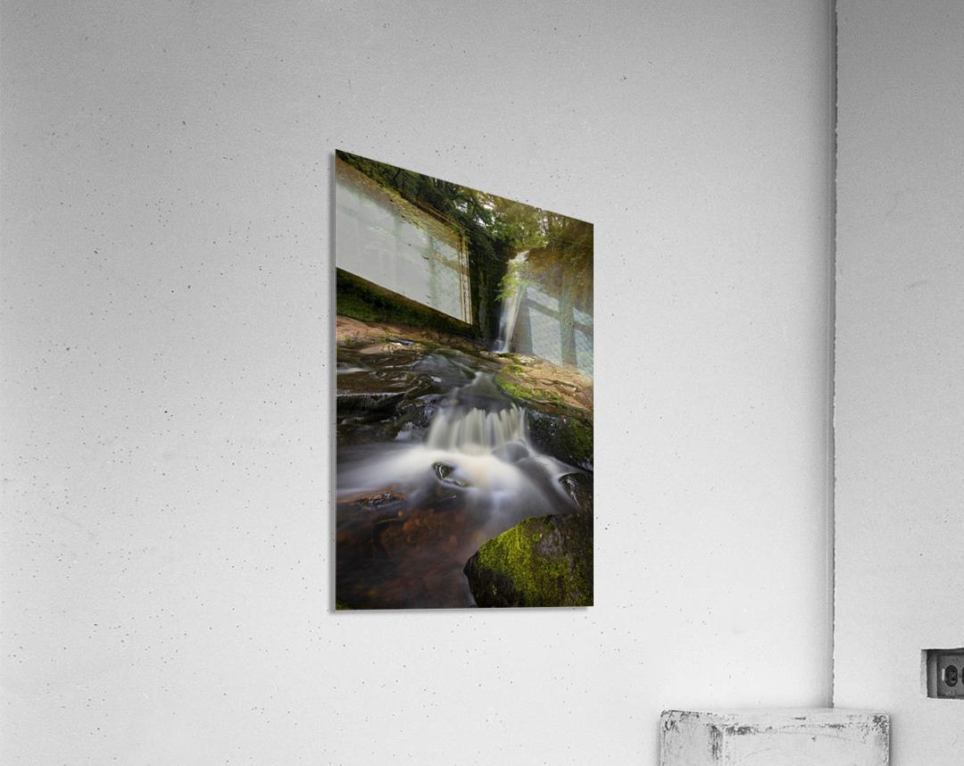 Blaen y Glyn waterfalls  Acrylic Print