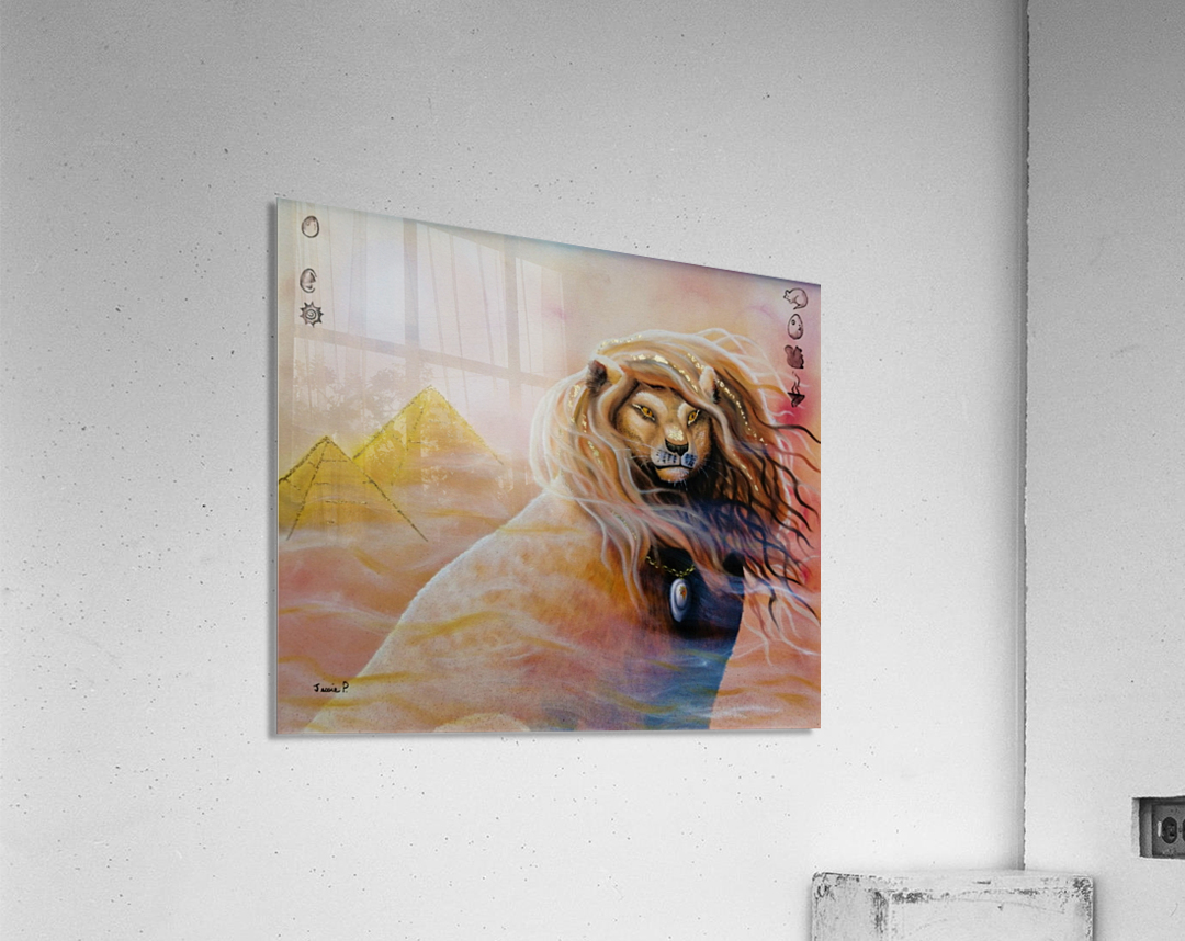 Le roi soleil   Impression acrylique