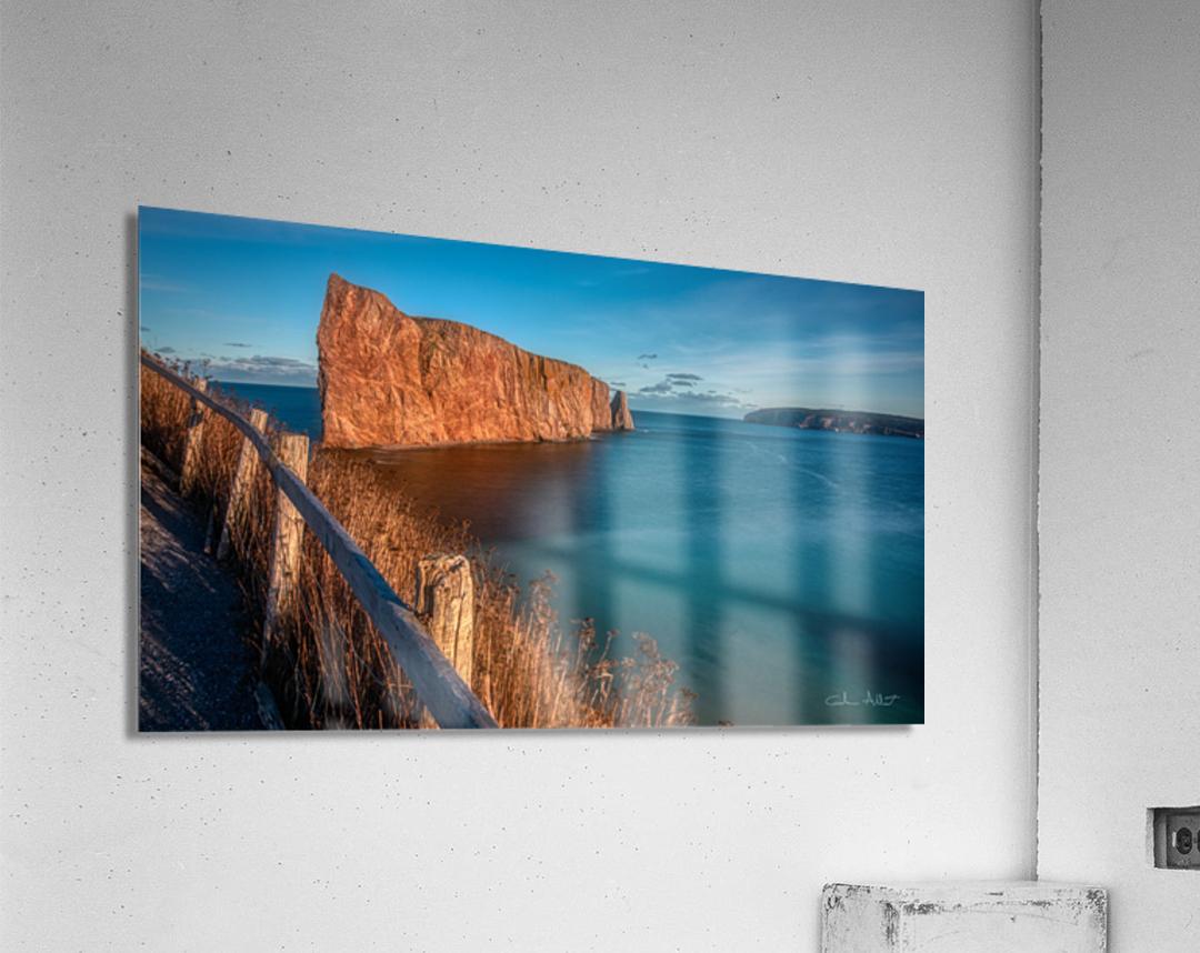 Lumiere sur le Rocher Perce  Acrylic Print