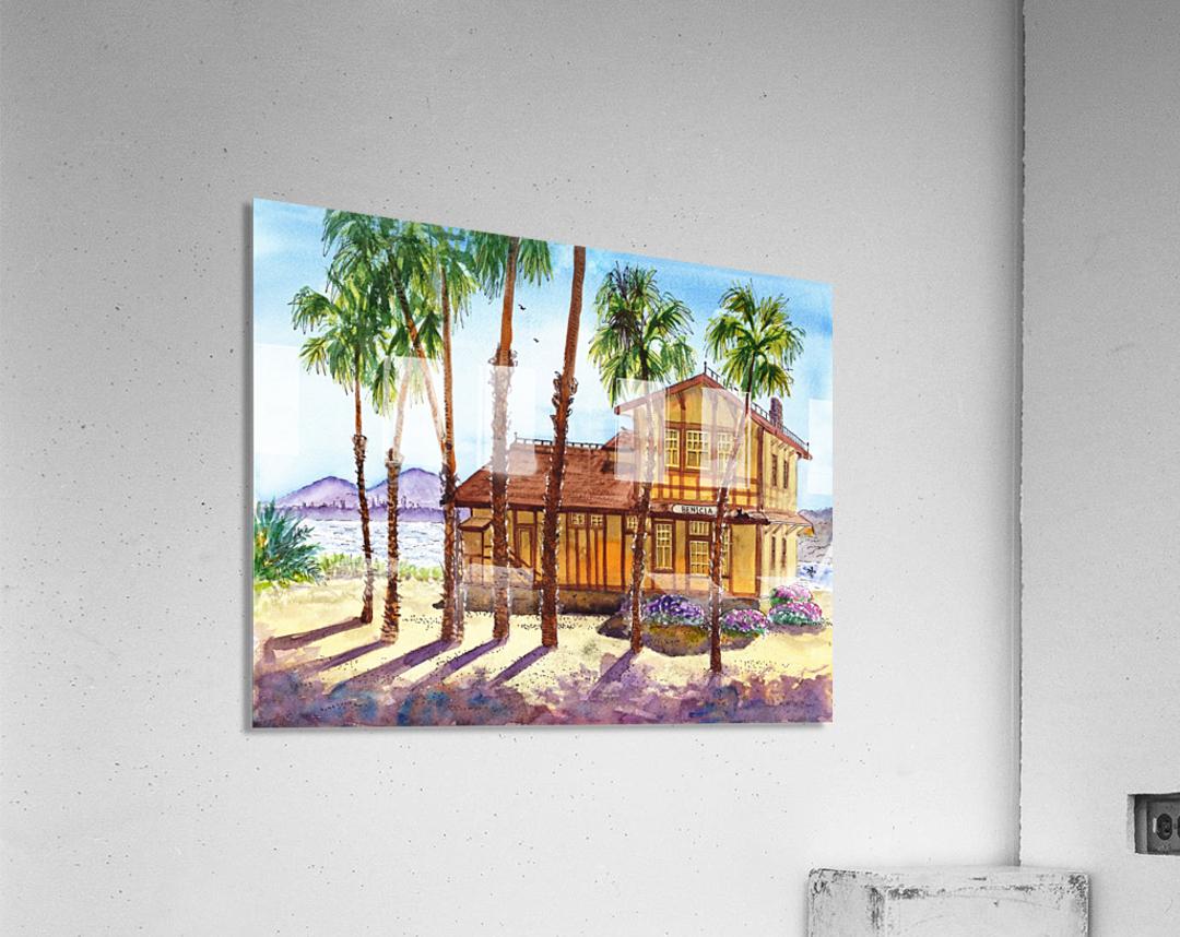 Summer Day Shadows  Acrylic Print
