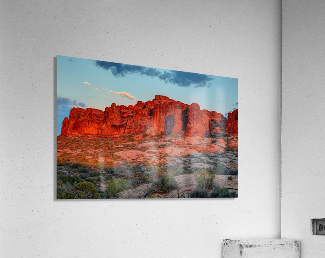 THE MAGIC OF SUNSET IN UTAH  Acrylic Print