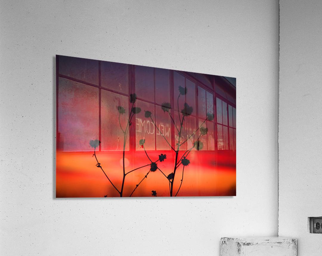 Liberty Sunset  Acrylic Print