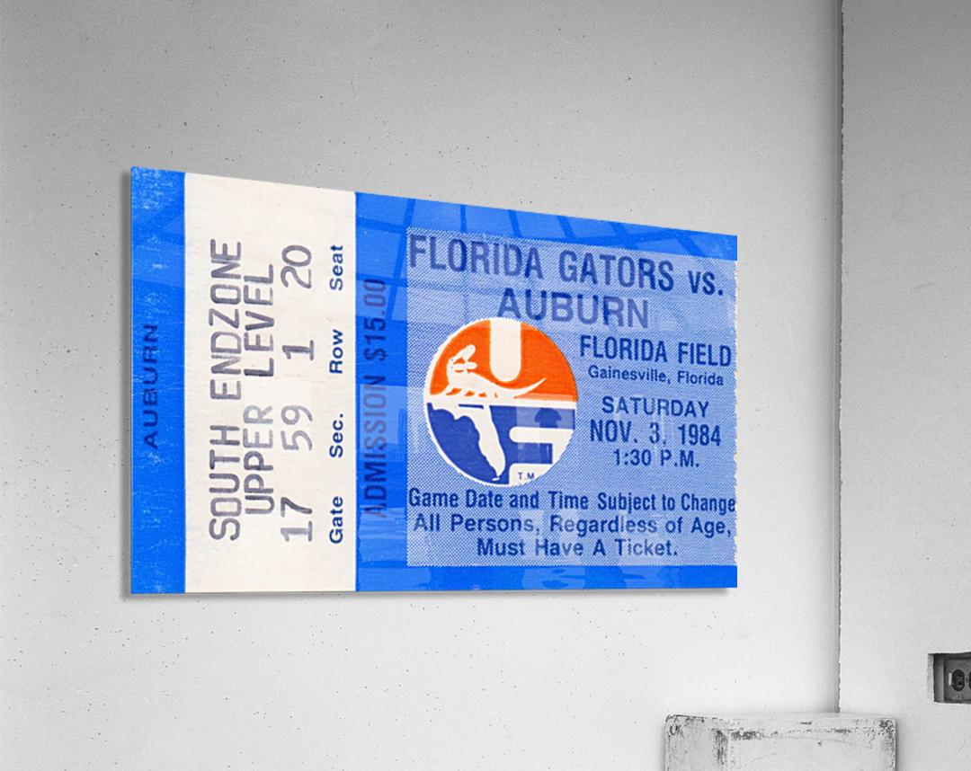 1984 Florida vs. Auburn  Acrylic Print