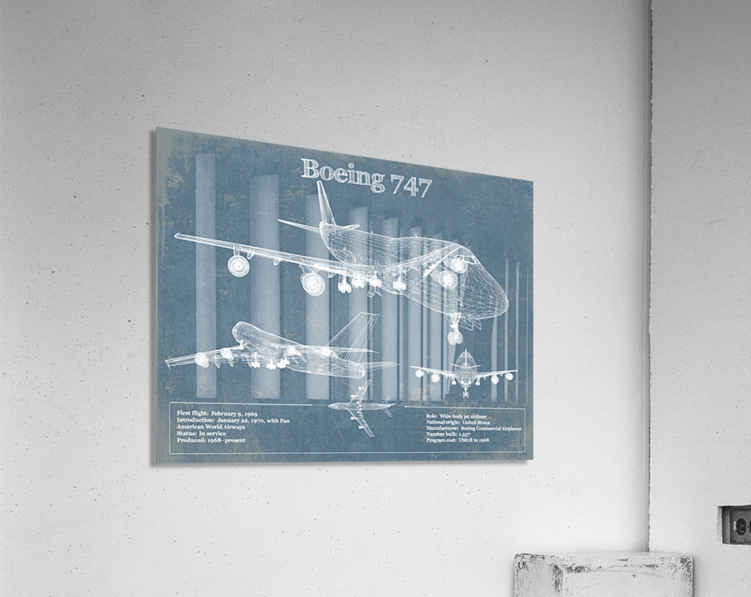 747  Acrylic Print