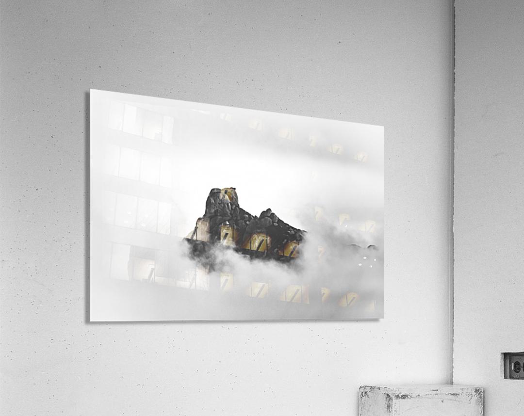 Sleeping golem  Acrylic Print