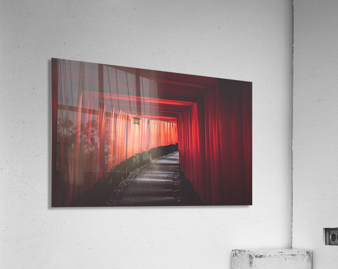 Fushimi red  Acrylic Print
