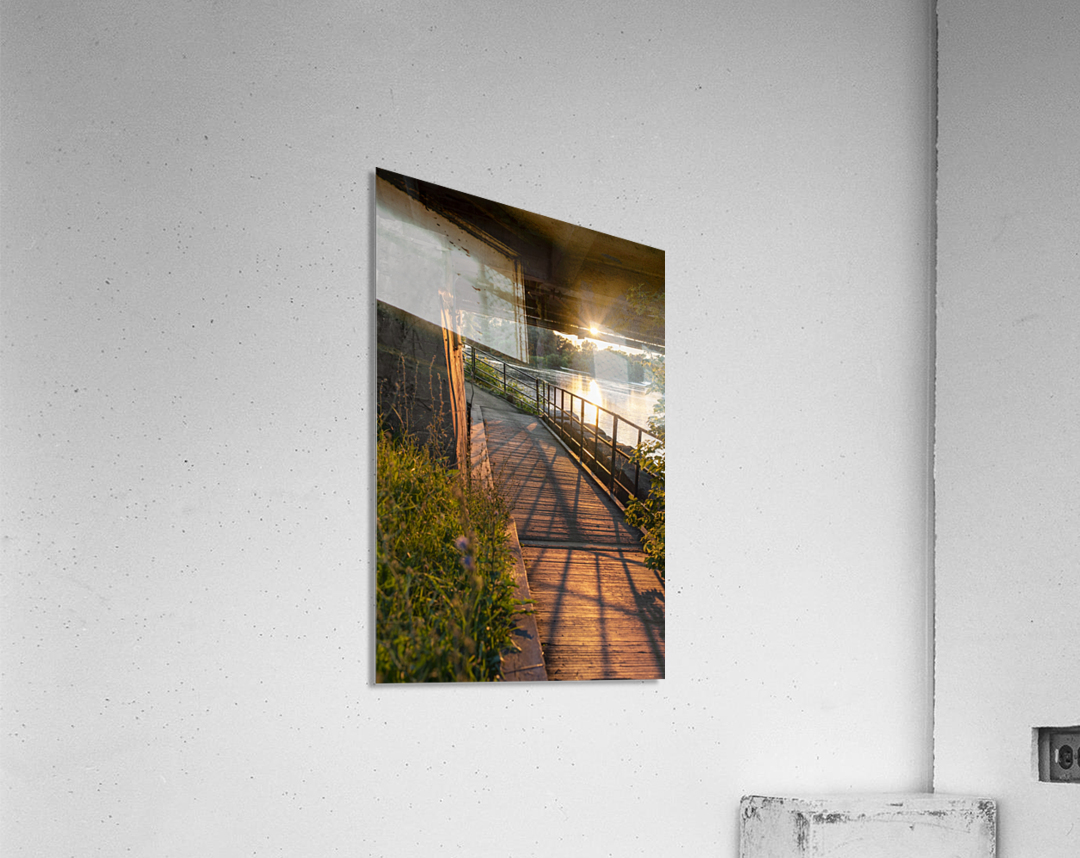 BridgeBoardwalk  Impression acrylique