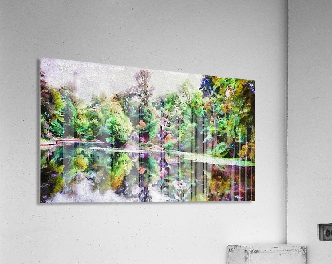 Fall Lake Reflections  Acrylic Print