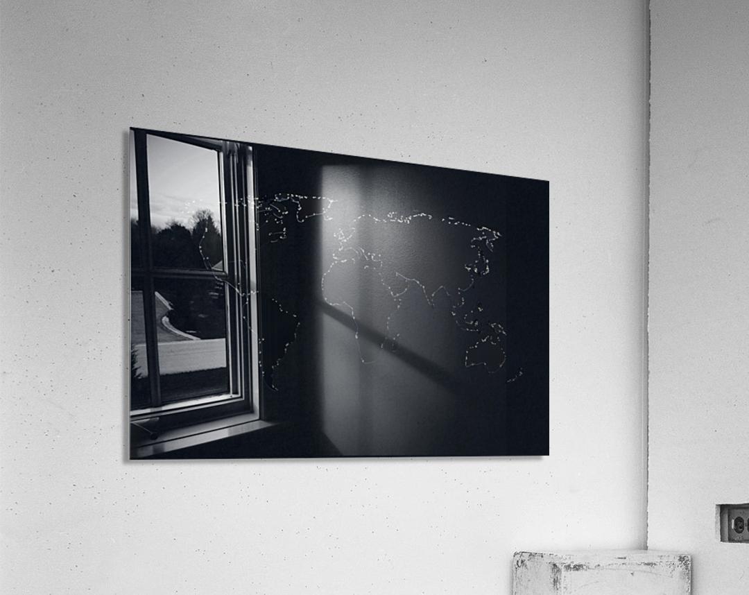 Dark Continent Lallia  Acrylic Print