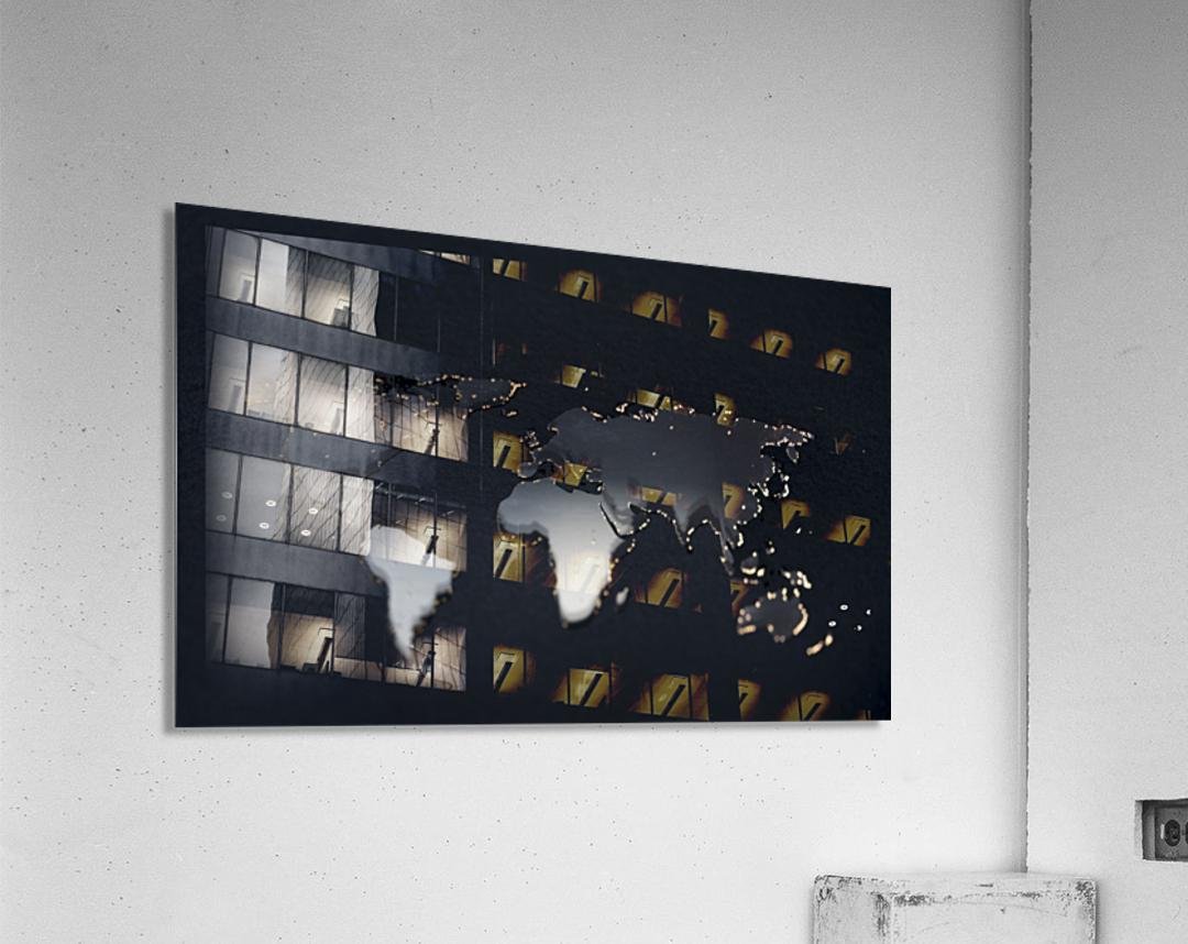 Dark Continent Jardia  Acrylic Print