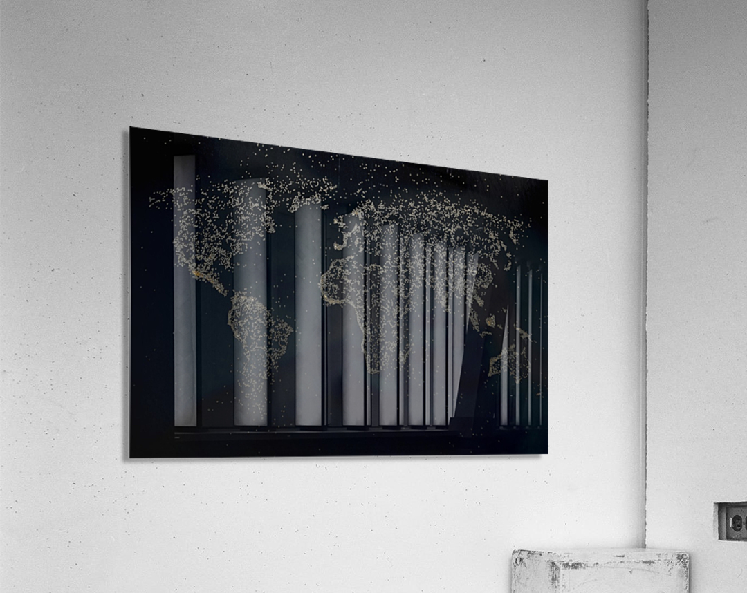 Dark Continent Milina  Acrylic Print