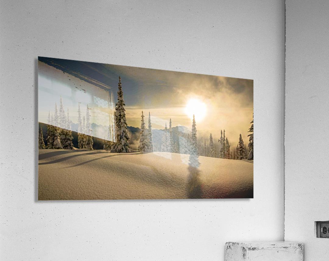 Trout lake BC Alpine sunset  Acrylic Print