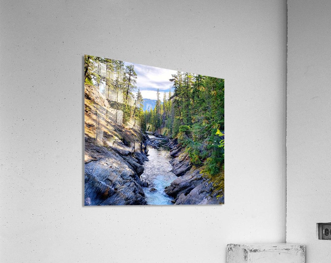 Icicle Gorge Trail  Acrylic Print