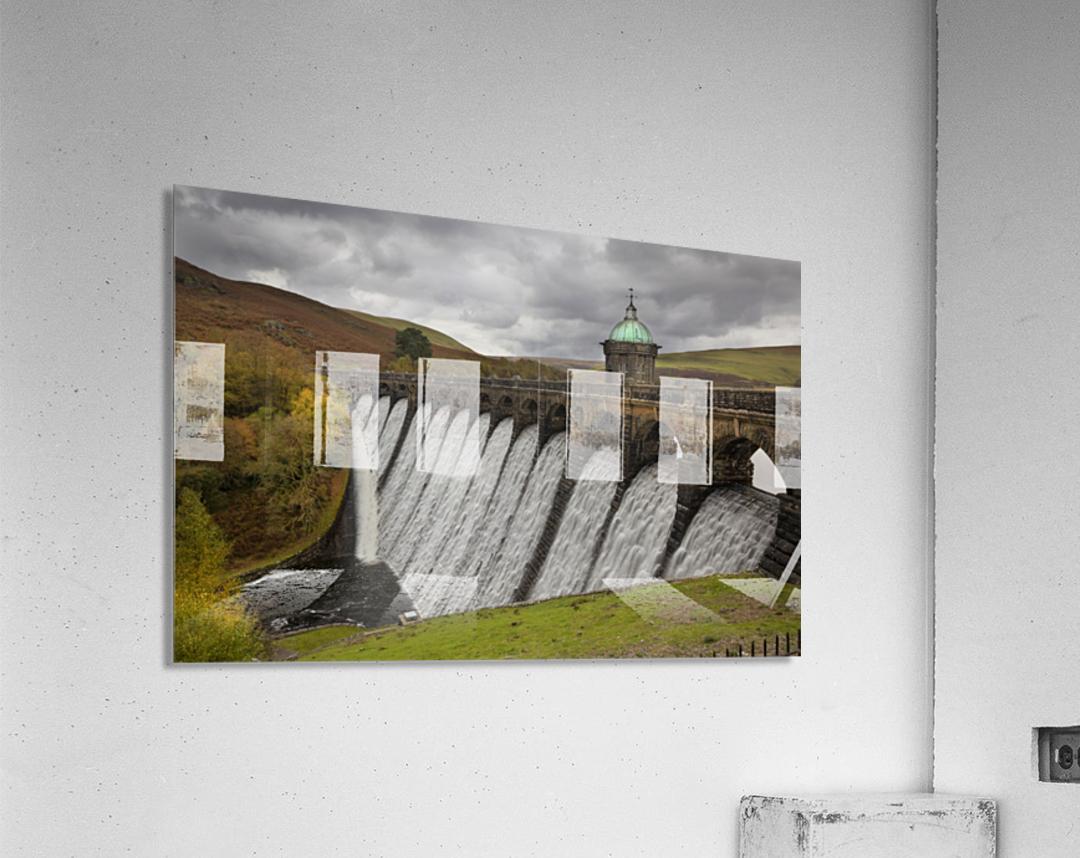 The dam at Craig Goch  Acrylic Print