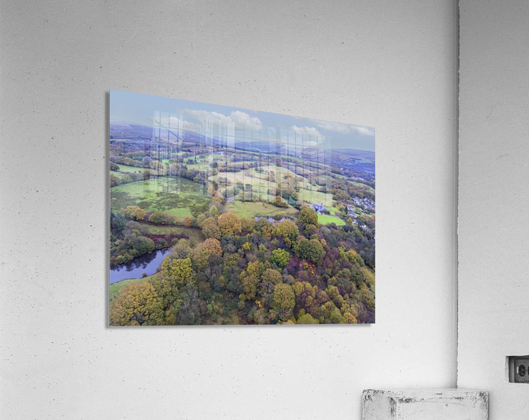Autumn in Cwm-twrch Isaf  Acrylic Print