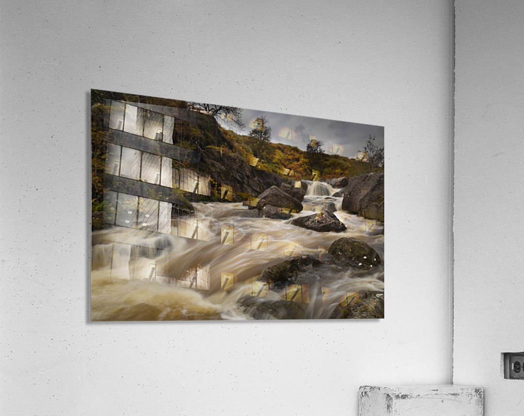 Elan valley watercourse  Acrylic Print