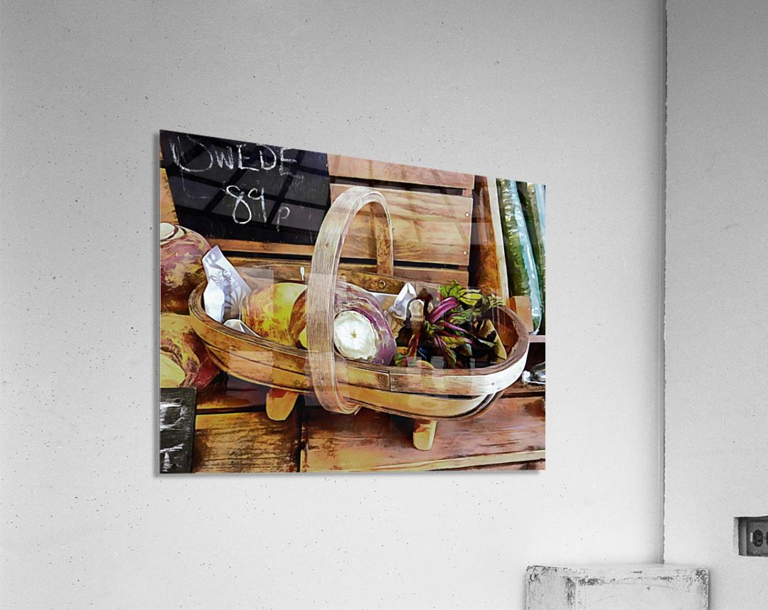 Swede Sale Display  Acrylic Print