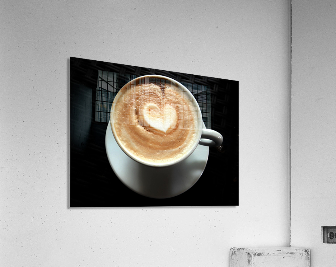 Uno Cappuccino  Acrylic Print