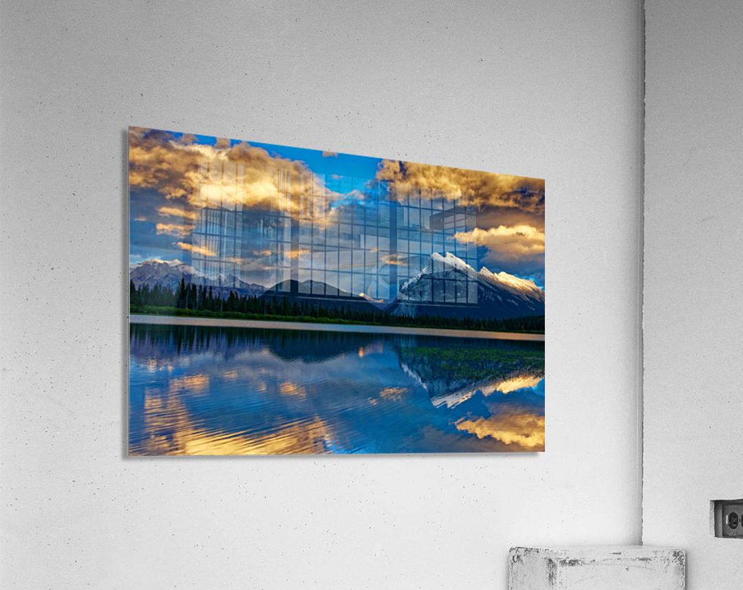 Canadian Rockies  Acrylic Print