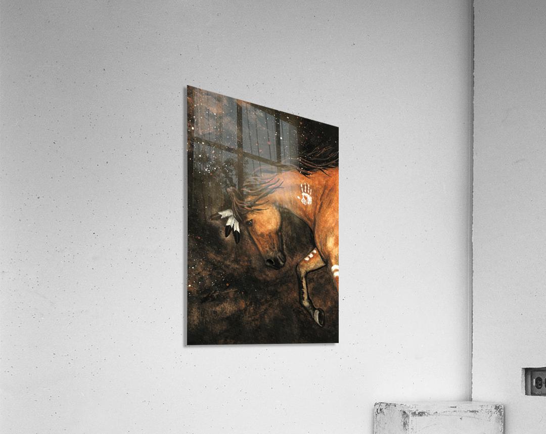 Night Walker  Acrylic Print